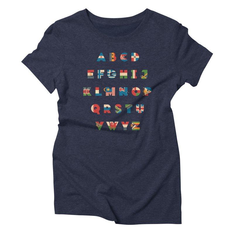 The Alflaget 2 Women's Triblend T-Shirt by Waynem