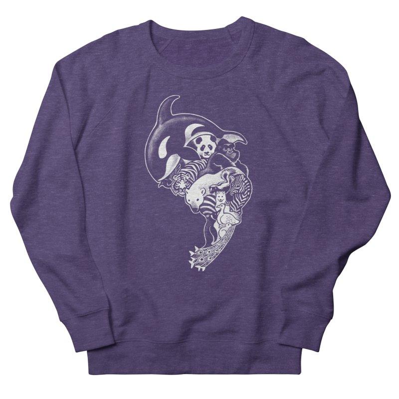 Monochromanimal (reverse) Men's Sweatshirt by Waynem