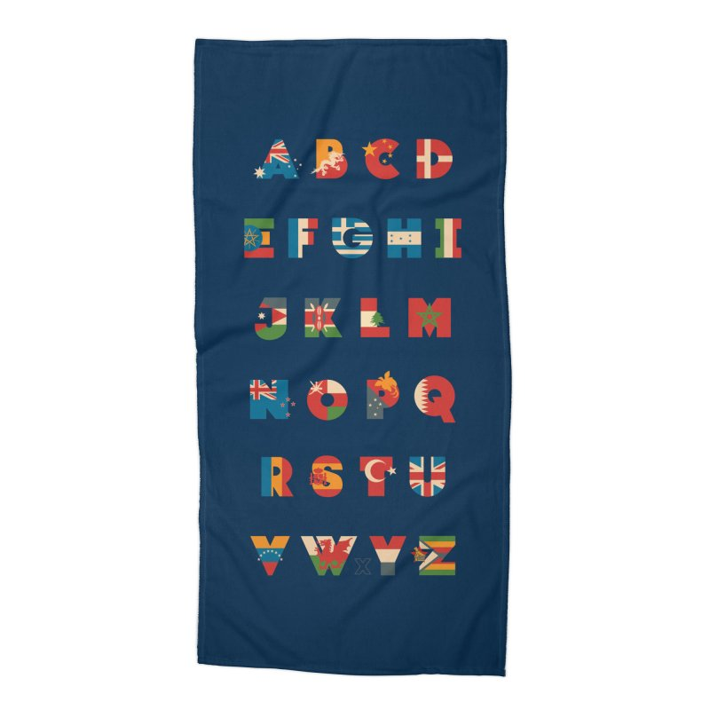 The Alflaget 3 Accessories Beach Towel by Waynem