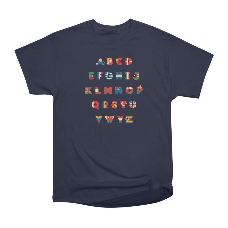 The Alflaget 3 Men's Heavyweight T-Shirt by Waynem