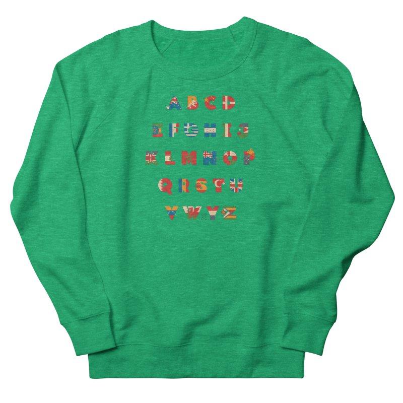 The Alflaget 3 Men's French Terry Sweatshirt by Waynem