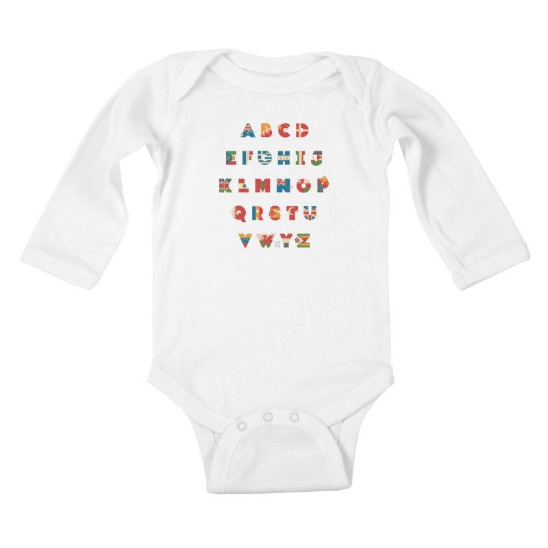 The Alflaget 3 Kids Baby Longsleeve Bodysuit by Waynem