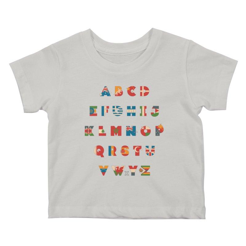 The Alflaget 3 Kids Baby T-Shirt by Waynem