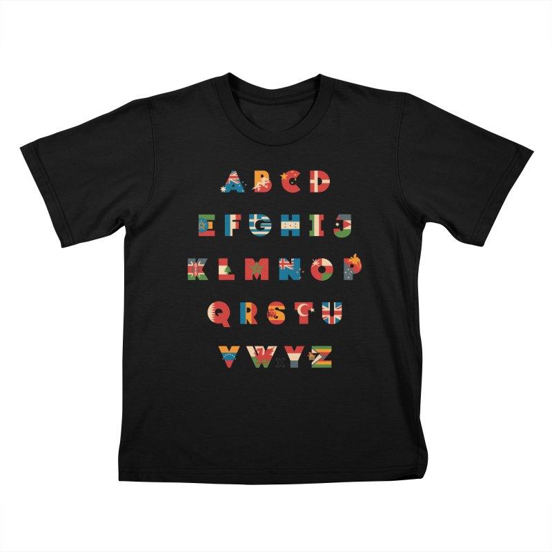 The Alflaget 3 Kids T-Shirt by Waynem