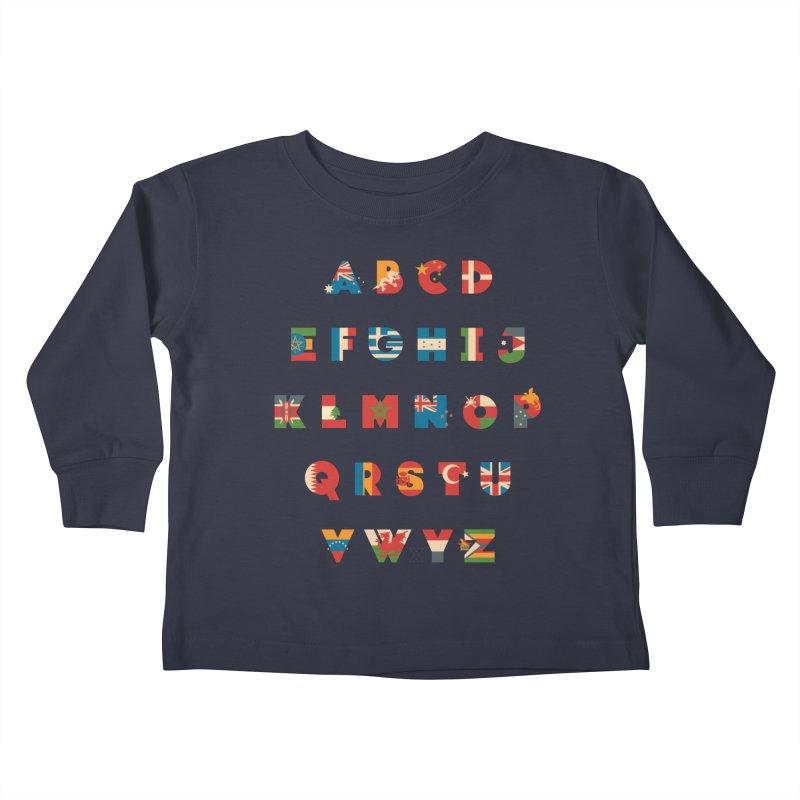 The Alflaget 3 Kids Toddler Longsleeve T-Shirt by Waynem