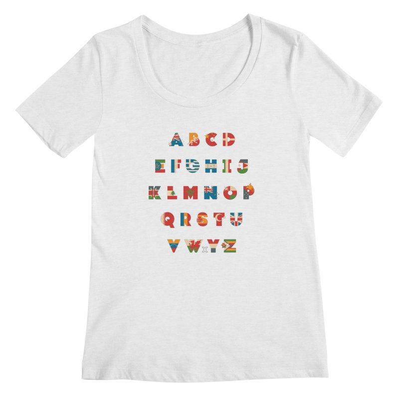 The Alflaget 3 Women's Scoopneck by Waynem