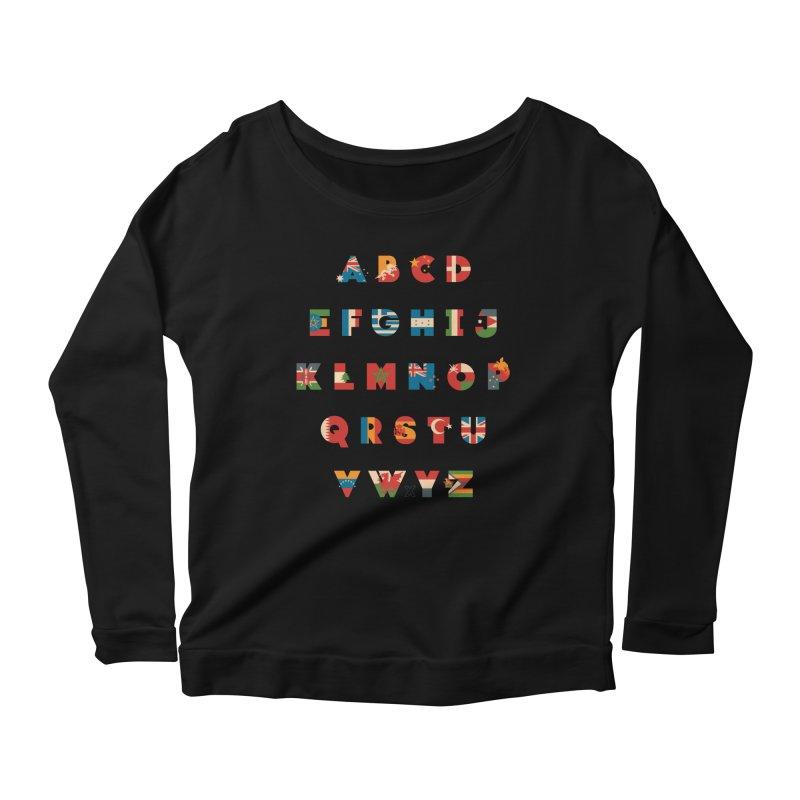 The Alflaget 3 Women's Scoop Neck Longsleeve T-Shirt by Waynem