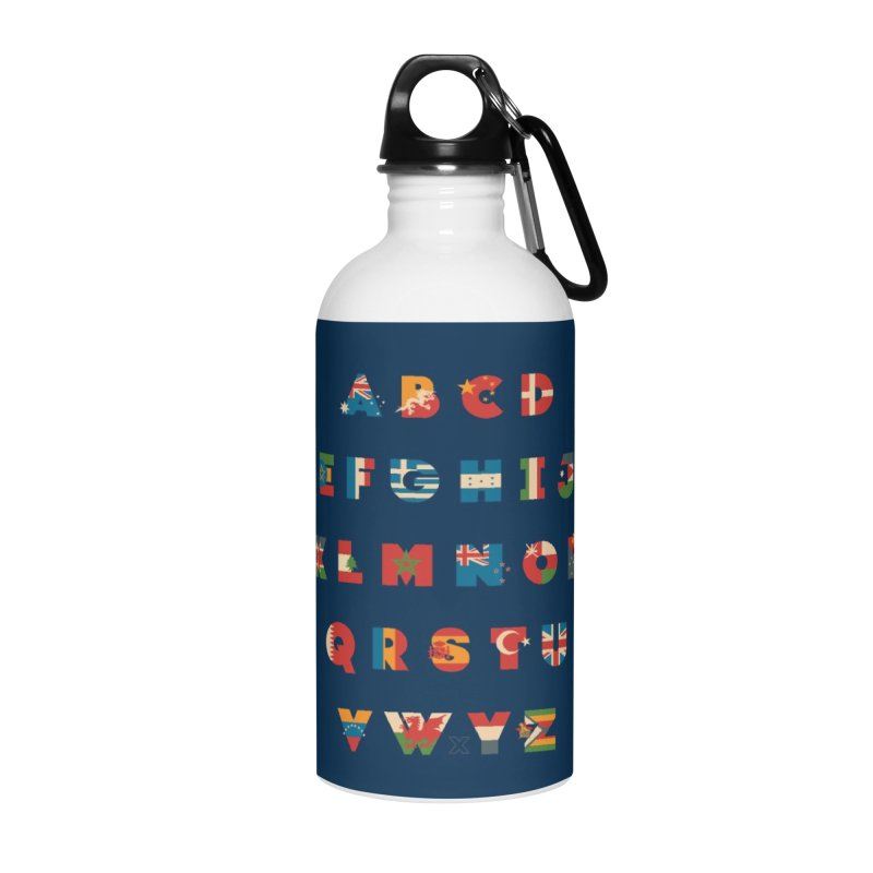 The Alflaget 3 Accessories Water Bottle by Waynem