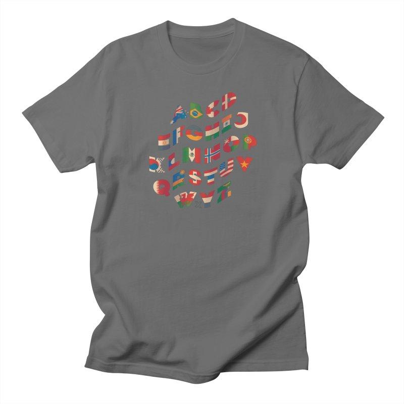 The Alflaget - Wavy Men's T-Shirt by Waynem