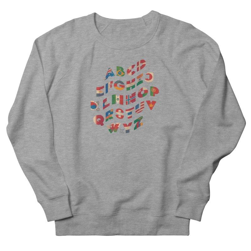 The Alflaget - Wavy Women's French Terry Sweatshirt by Waynem