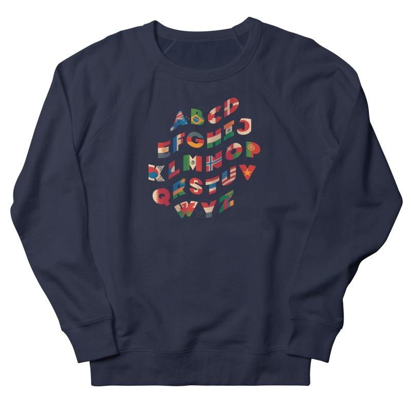 The Alflaget - Wavy Men's Sweatshirt by Waynem