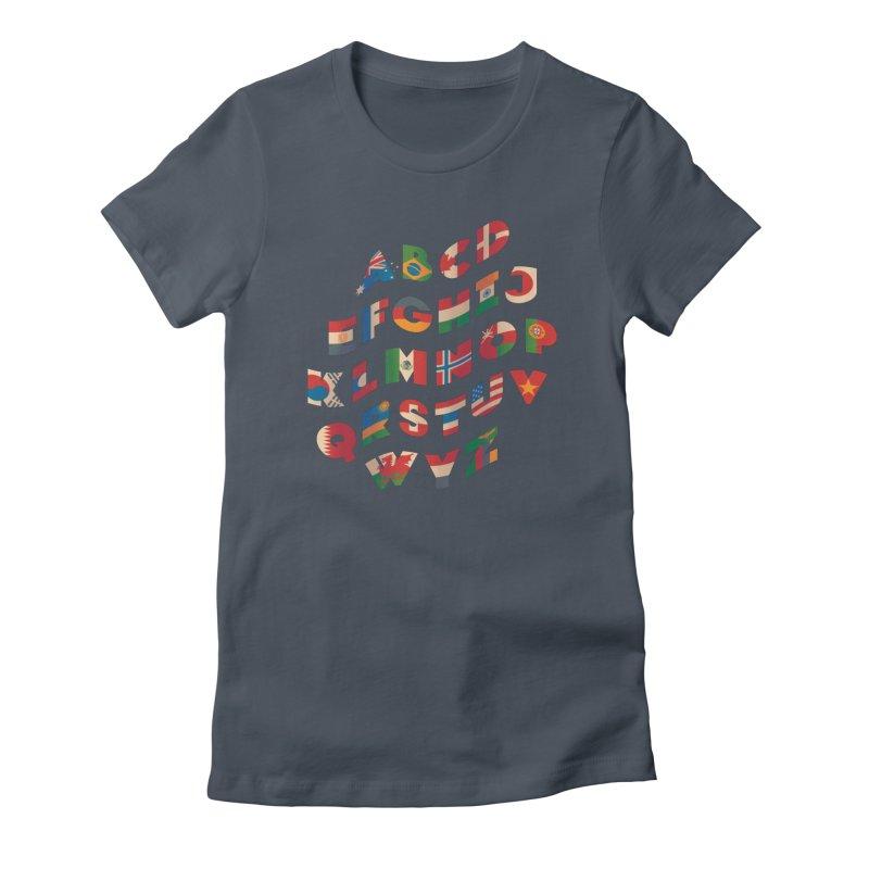 The Alflaget - Wavy Women's T-Shirt by Waynem