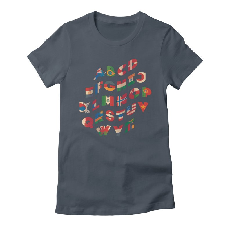 The Alflaget - Wavy Women's T-Shirt by Waynem
