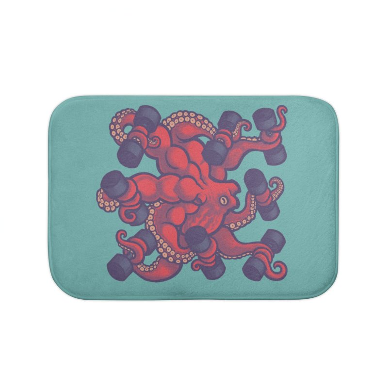 Tentacurls new Home Bath Mat by Waynem