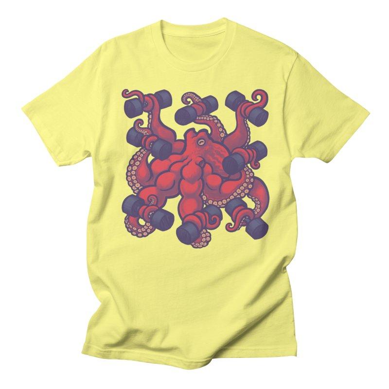 Tentacurls new Men's T-Shirt by Waynem