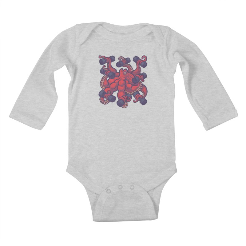 Tentacurls new Kids Baby Longsleeve Bodysuit by Waynem