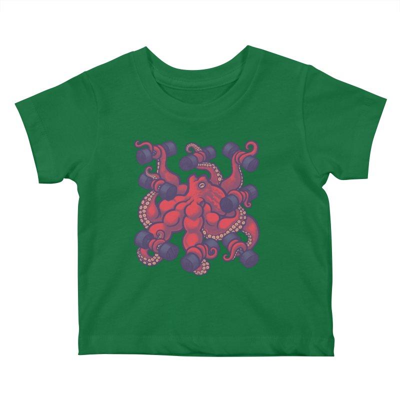 Tentacurls new Kids Baby T-Shirt by Waynem