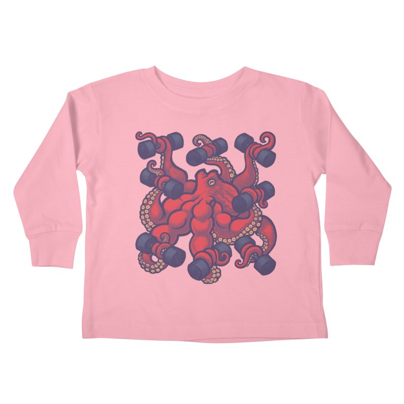 Tentacurls new Kids Toddler Longsleeve T-Shirt by Waynem