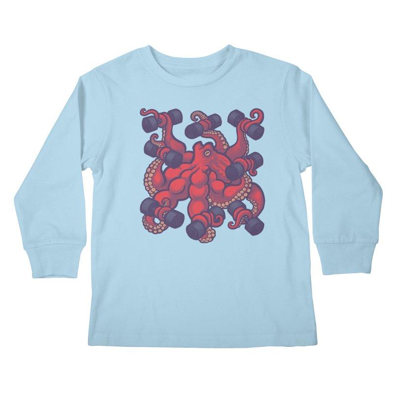 Tentacurls new Kids Longsleeve T-Shirt by Waynem