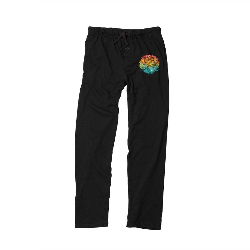 Animal Rainbow Women's Lounge Pants by Waynem