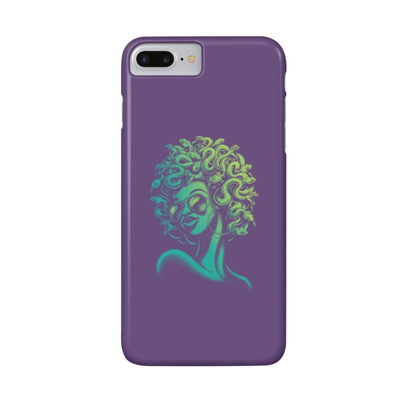 Funky Medusa Accessories Phone Case by Waynem