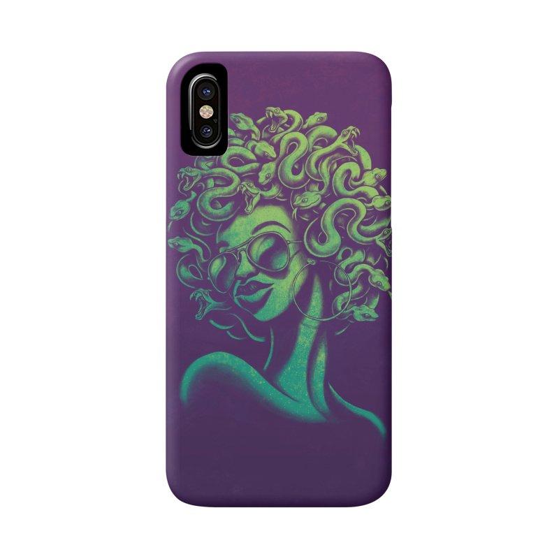 Funky Medusa Accessories Phone Case by Waynem