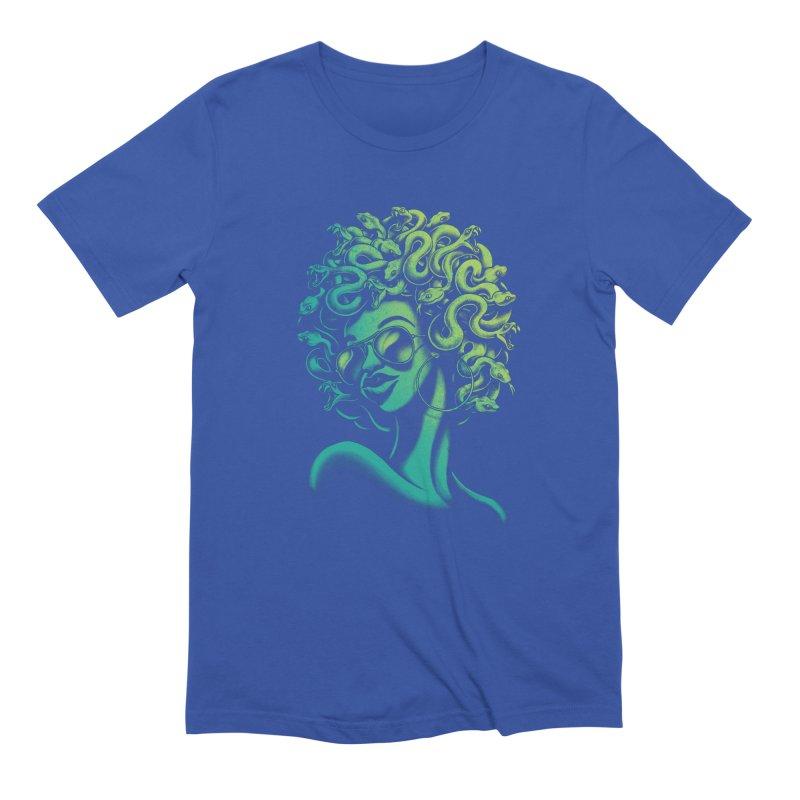 Funky Medusa Men's T-Shirt by Waynem