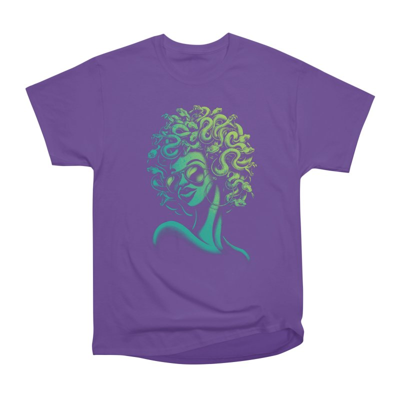 Funky Medusa Women's Classic Unisex T-Shirt by Waynem