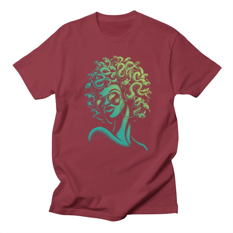 Funky Medusa Women's Unisex T-Shirt by Waynem