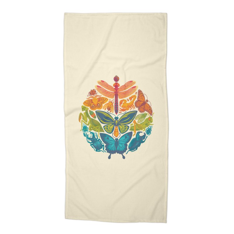Bugs & Butterflies Accessories Beach Towel by Waynem