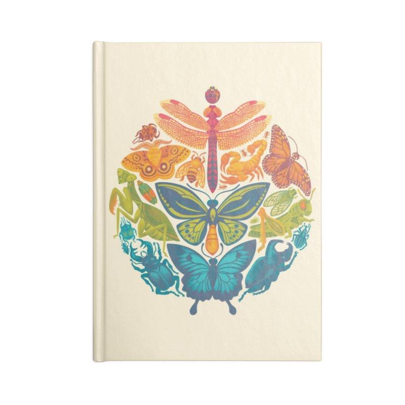 Bugs & Butterflies Accessories Notebook by Waynem