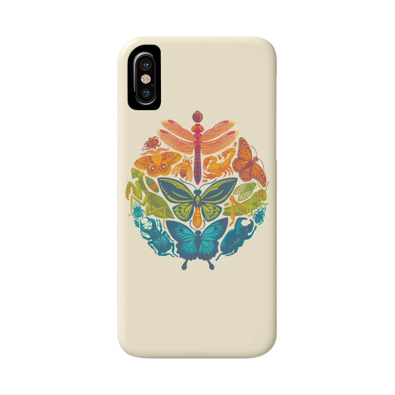 Bugs & Butterflies Accessories Phone Case by Waynem