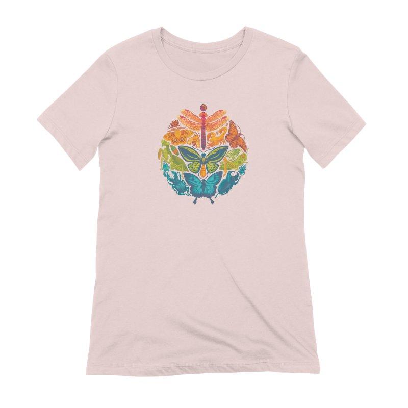 Bugs & Butterflies Women's Extra Soft T-Shirt by Waynem