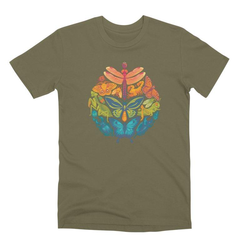 Bugs & Butterflies Men's Premium T-Shirt by Waynem