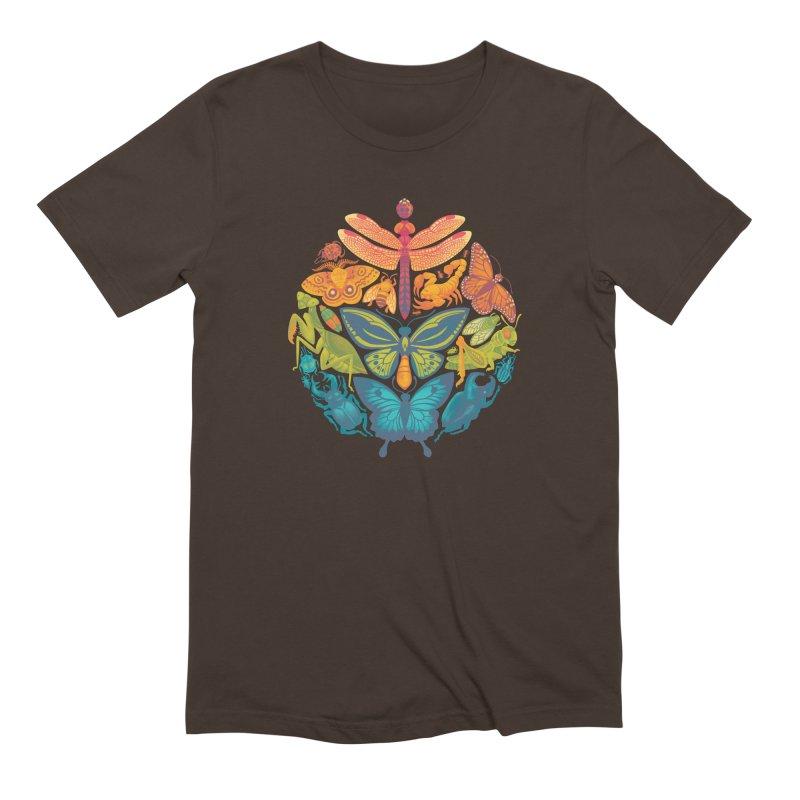 Bugs & Butterflies Men's Extra Soft T-Shirt by Waynem