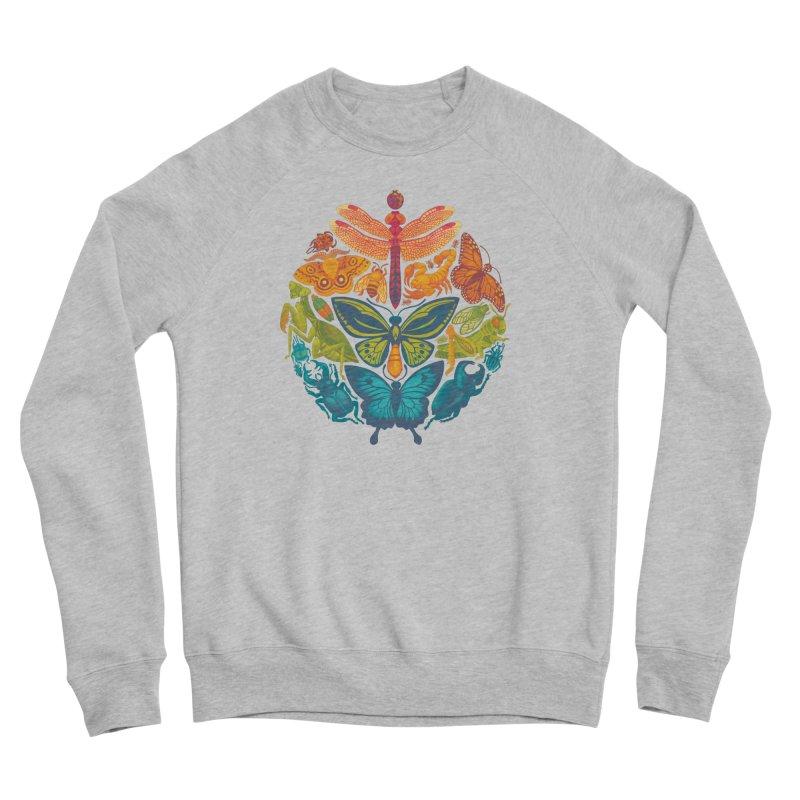 Bugs & Butterflies Men's Sponge Fleece Sweatshirt by Waynem
