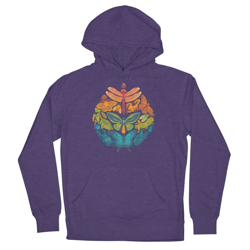 Bugs & Butterflies Women's French Terry Pullover Hoody by Waynem