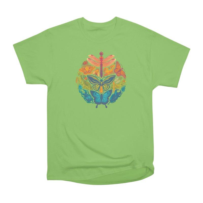 Bugs & Butterflies Men's Heavyweight T-Shirt by Waynem