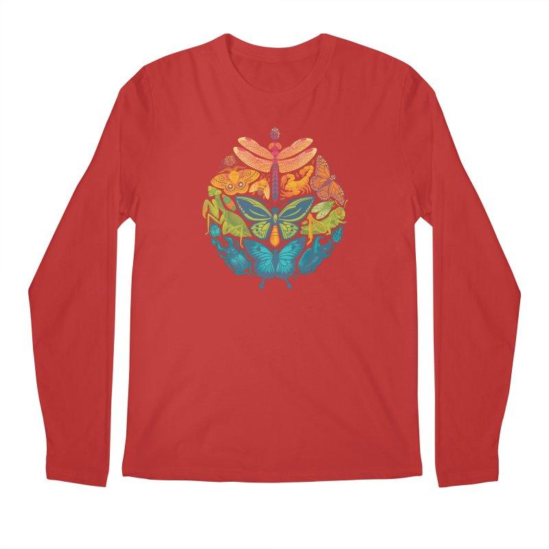 Bugs & Butterflies Men's Regular Longsleeve T-Shirt by Waynem