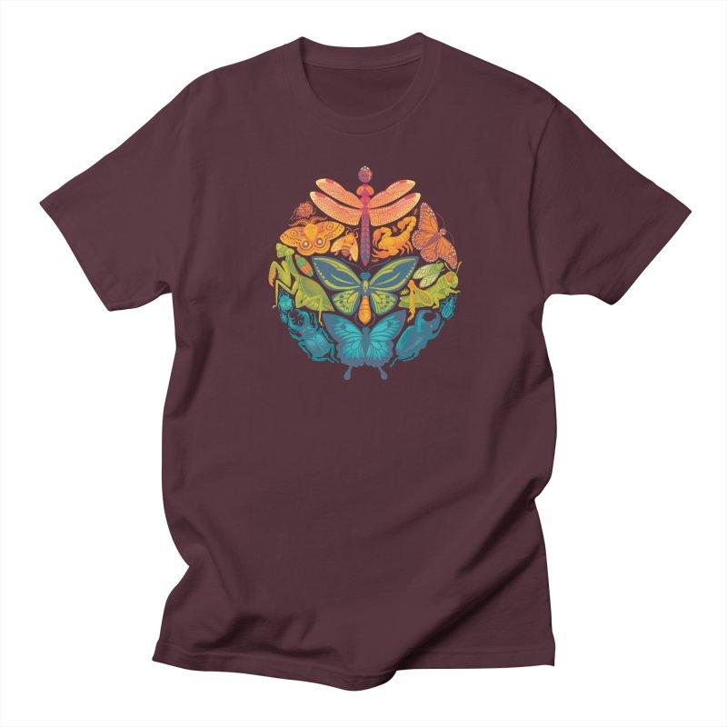 Bugs & Butterflies Women's Regular Unisex T-Shirt by Waynem