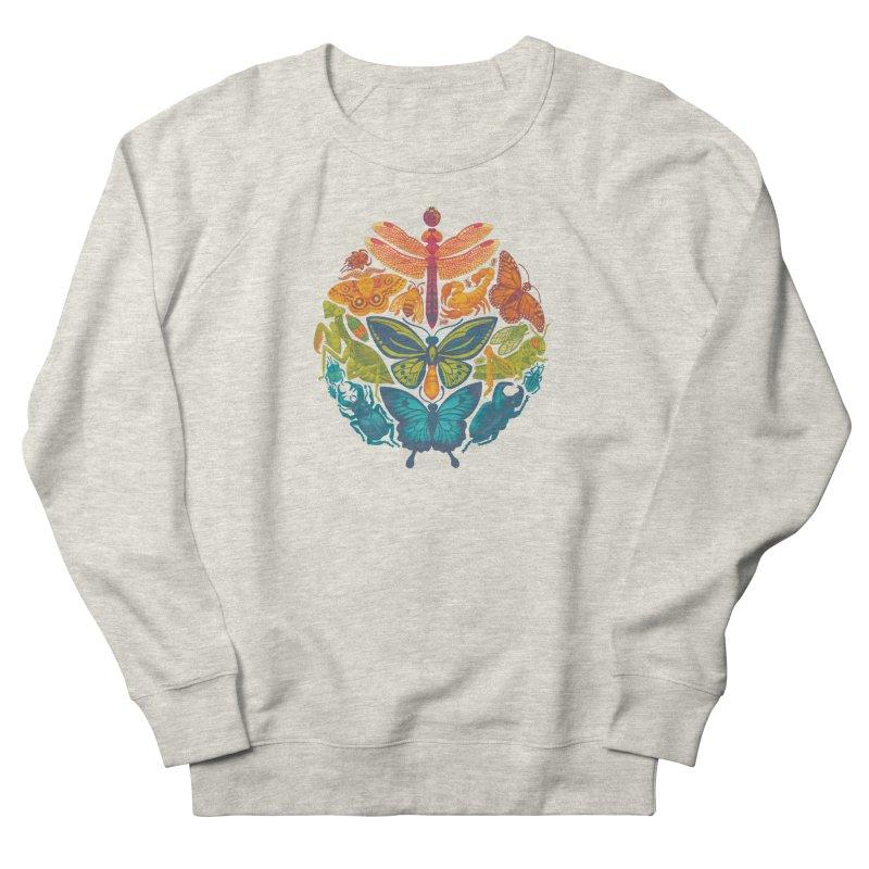 Bugs & Butterflies Women's French Terry Sweatshirt by Waynem