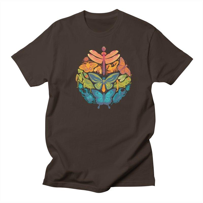 Bugs & Butterflies Men's T-Shirt by Waynem
