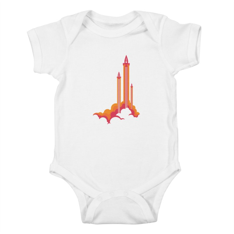 Lift Off Kids Baby Bodysuit by Waynem
