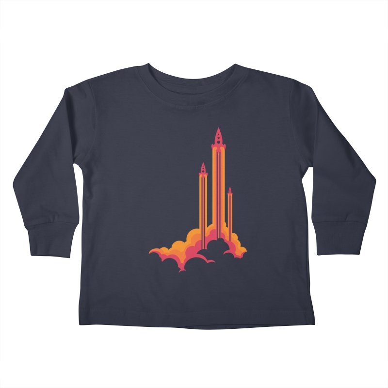 Lift Off Kids Toddler Longsleeve T-Shirt by Waynem