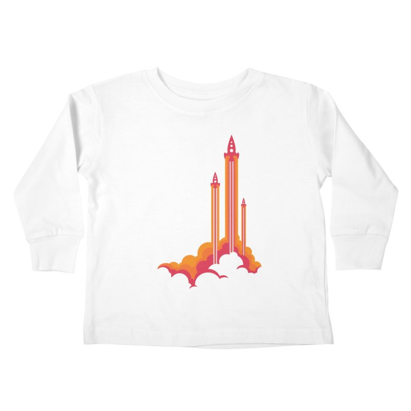 Lift Off Kids Toddler Longsleeve T-Shirt by Waynem