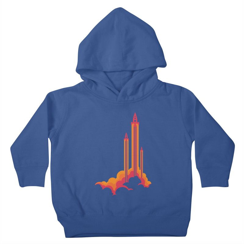 Lift Off Kids Toddler Pullover Hoody by Waynem