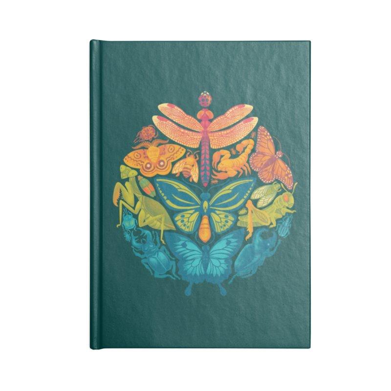Bugs & Butterflies 2 Accessories Notebook by Waynem