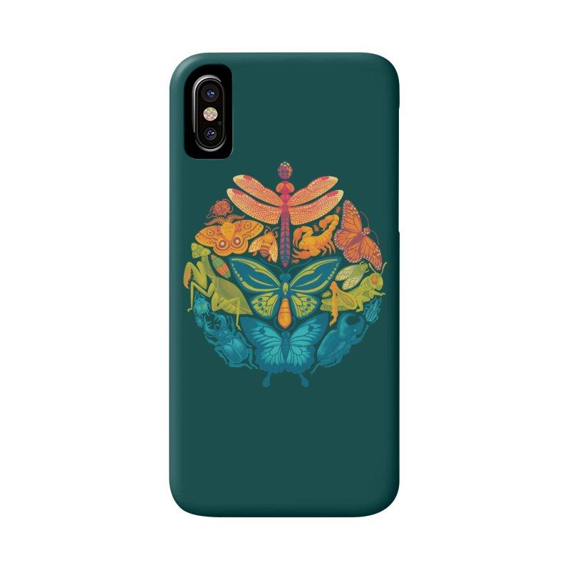 Bugs & Butterflies 2 Accessories Phone Case by Waynem