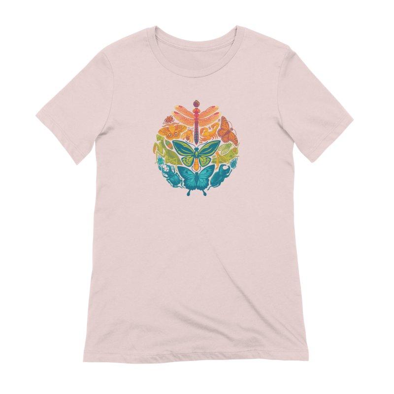 Bugs & Butterflies 2 Women's Extra Soft T-Shirt by Waynem
