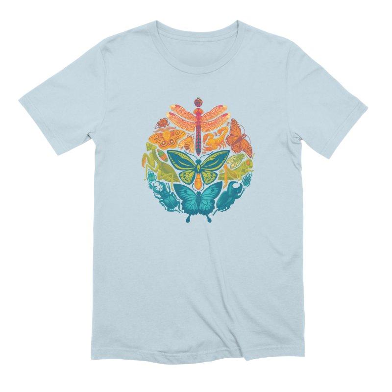 Bugs & Butterflies 2 Men's Extra Soft T-Shirt by Waynem